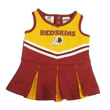 New NFL Washington Redskins Infant Girls Cheerleader Dress Sizes 0-18 Months