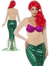 Ladies Sexy Mermaid Costume Adult Women Fairytale Princess Fancy Dress Uk 8-18