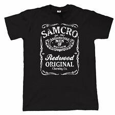 Samcro Redwood Original, Mens Biker T Shirt,  Motorcycle Club, Charter