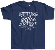 Threadrock Kids Future Tattoo Artist Toddler T-shirt Occupation Job Career
