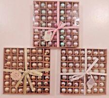 49 x Mini Argento Oro rosa palline glitter oro ornamento tavola Albero Natale Decor