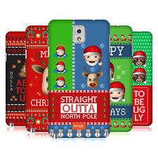 OFFICIAL EMOJI UGLY CHRISTMAS HARD BACK CASE FOR SAMSUNG PHONES 2