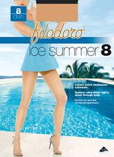 Filodoro Collant Estivo Velatissimo Tuttonudo Punte Invisibili 8 Den Ice Summer