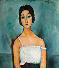 Amedeo Modigliani Christina imprimé vintage