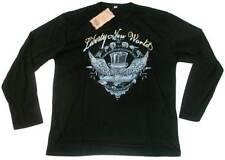 GUAN DA Liberty New World SKULL SRASS STAR T-Shirt g.L