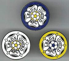 Leeds United ~ Lapel Pin Badge ~ 20mm Round