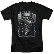 Batman Nightwing Biker Batman DC Comics Adult Shirt S-3XL