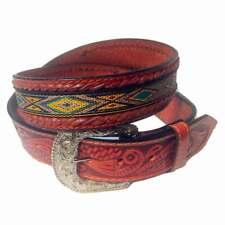 Boucle de ceinture carr/ée Nocona fabriqu/é aux /États-Unis motif floral style western//cowboy