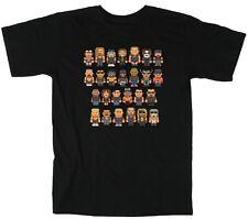 "WCW WWE NWO New World Order ""8 Bit"" T-shirt Adult & Youth sizes S-5XL"
