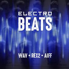 Electro Beats - EDM Drum Loops - WAV REX2 Apple Loops - Reason Garageband Logic
