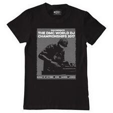 Technics / DMC T-Shirt DMC World DJ Championships 2017 Schwarz (Size S-XXL) WF17