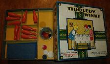 Milton Bradley extra fine edition Tiddledy Winks