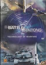 BATTLE STATIONS: TECHNOLOGY OF WARFARE. F-15 EAGLE & F-18 HORNET (NEW 2xDVD SET