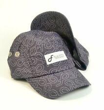Flat Fitty Pop N Lock Camp Cap Hat, Black Silk, One Size