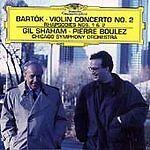 Bartok: Violin Concerto No. 2; Rhapsodies Nos. 1 & 2 (CD, Jun-1999, DG...