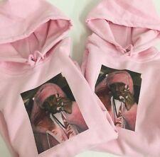Cam'ron Pink Fur Hoodie - Dipset Diplomats - XS S M L XL XXL