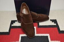 Ralph Lauren Purple Label Edward Green Grant II Monk Strap Loafer Shoes
