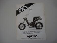 advertising Pubblicità 1975 APRILIA POP