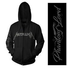 Official Metallica - Phantom Lord - Men's Black Zipped Hoodie