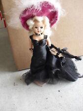 Rare Vintage 1950s Plastic Mae West Doll Look