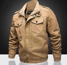 Mens New Fashion Stand Collar Military Outdoor Jacket Coat Blazer Outwear XUNL