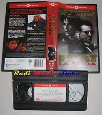 film VHS HEAT LA SFIDA Al Pacino Robert De Niro CECCHI GORI VIDEO (F50**)no dvd