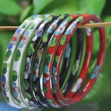 Fashion Vintage Round Cloisonne Bracelet Bracelet Enamel Inlaid Jewelry Gift