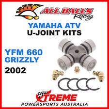 19-1003 Yamaha YFM660 Grizzly 2002 All Balls U-Joint Drive Shaft Kits