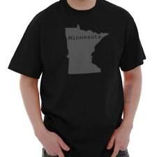 Minnesota State Shirt State Pride USA T Novelty Gift Ideas  T-Shirt Tee