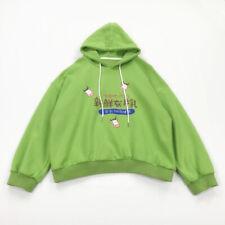 Women Girl Japanese Hoodie Cartoon Pullover Cute Top Sweatshirt Kawaii Loose