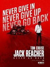 V8473 Jack Reacher Never Go Back Tom Cruise Rare Movie Art WALL PRINT POSTER CA
