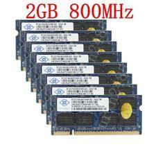 1-8PCS ( 2GB / 1GB ) PC2 6400S DDR2 800MHz SO-DIMM Laptop Memory For NANYA LOT