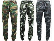 Men's Game Esercito Camo Mimetica In Pile Jogging Pantaloni Sportivi Pantaloni inferiore