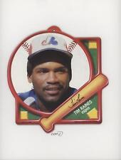 1988 1988-89 Tara Play Ball! Baseball Plaques #TIRA Tim Raines Montreal Expos