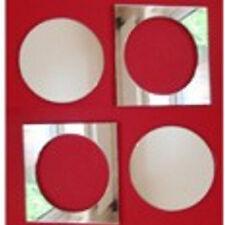 Quadratische rahmenlose deko spiegel f rs badezimmer g nstig kaufen ebay - Klebespiegel ikea ...