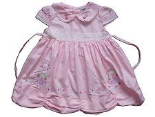 Bebé Niña Algodón Vestido de fiesta rosa amarillo White 6 9 12 18 meses