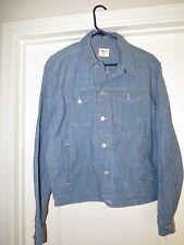 Gap 1969 Icon trucker jean jacket chambray cotton lycra chore coat men M  XL New