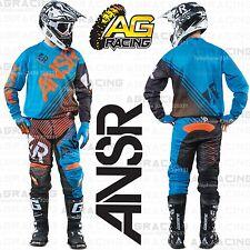 Respuesta 2015 Elite Azul Naranja Pantalón Combo Kit De Jersey De Carrera Motocross Enduro Quad