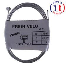 CABLE DE FREIN VELOX VELO VTT ARRIERE ACIER 2.5m 1.5mm WEINMANN SHIMANO MAFAC
