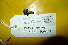 SUZUKI GSF 600 GN77A   FRONT BRAKE LEVER SWITCH SCREWS