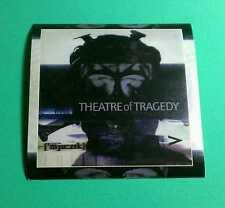 THEATRE OF TRAGEDY THEATER ['MJU:ZIK] MUSIC Amp GUITAR CASE VERY RARE STICKER