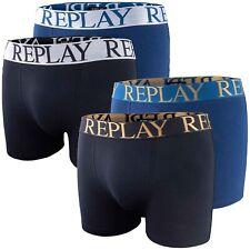 REPLAY 3p Uomo Boxershorts Pants TRUNKS S fino XXL in bianco grigio nero