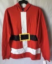 Fifth Sun Mens Santa Suit Ugly Christmas Hoodie Shirt Sweater Tacky Medium NWT