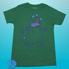 New Nickelodeon Rugrats Reptar Green Men's Vintage Retro T-Shirt