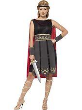 Roman Warrior Costume Gladiator Spartan Legends & Myths Fancy Dress Outfit