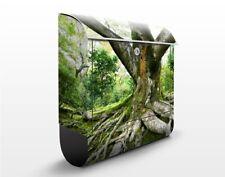 Wandbriefkasten Alter Baum Briefkasten Grün postkasten Motiv Zeitungsfach Bild