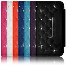 Housse Coque Etui Portefeuille Style Diamant Universel S couleur pour Nokia X
