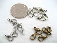 metal bronze Silver 301 302 Lobster Clasp necklace bracelet jewellery findings