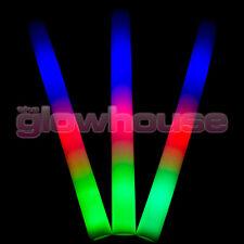 Light Up Premium DEL mousse Glow Stick Haute Qualité clignotant multi couleur