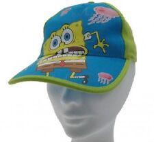Cappello Spongebob Originale taglia 52 e 54cm Berretto Originale verde 3-10 anni